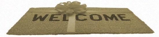 придверный коврик в подарок