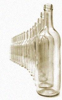 пустые бутылки