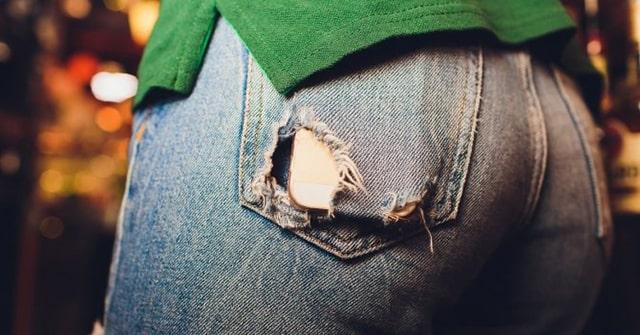 порванные штаны
